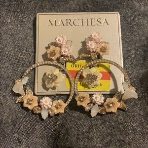 Marchesa foral ear rings